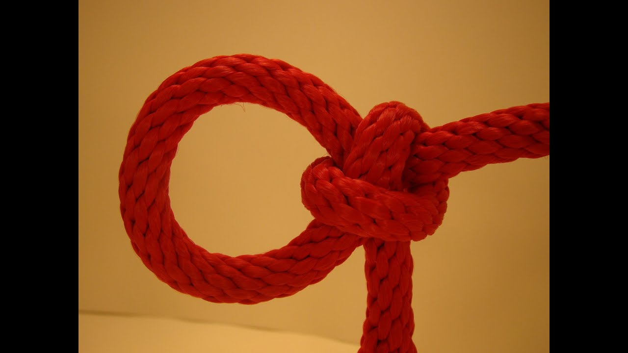 How To Tie The Lariat Loop Youtube