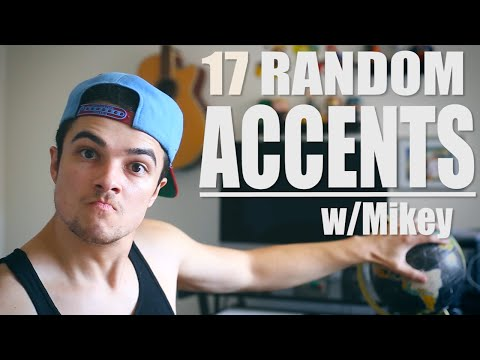 17 Random Accents | Mikey Bolts