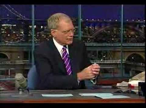 Mentos on Letterman