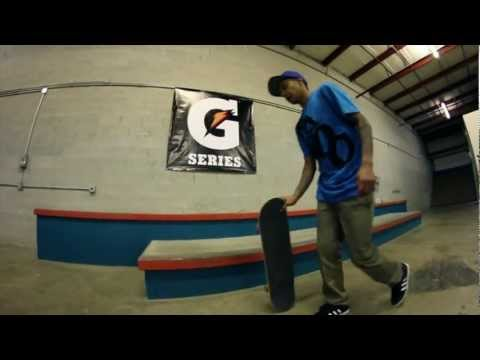 Chaz Ortiz's Skateboard Training Facility