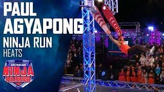 Paul Agyapong dances his way through the course | Australian Ninja Warrior 2019
