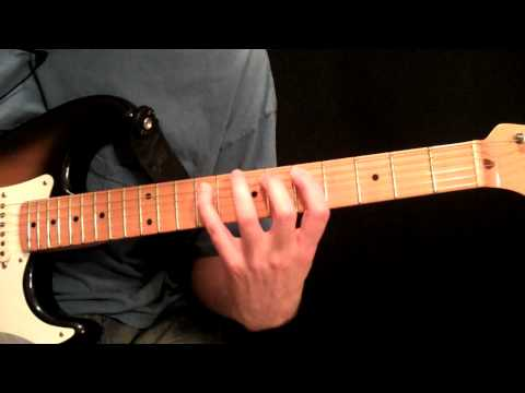 Lesson Guitar - Harmonic Minor In A