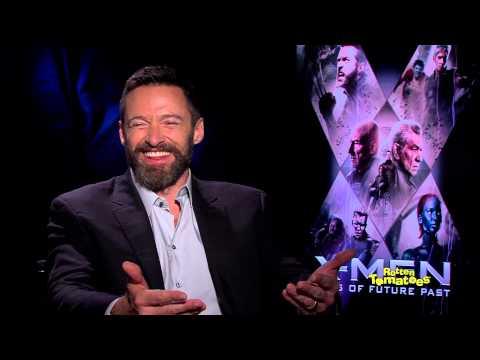 X-Men Days of Future Past Hugh Jackman Secretly Sings Justin Bieber