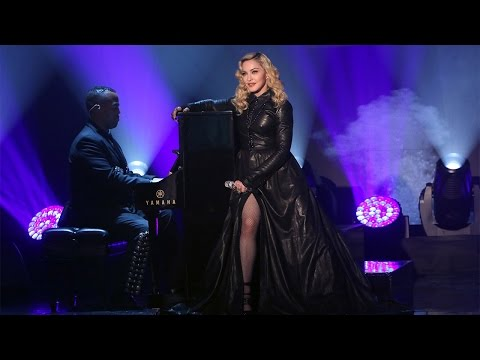 Madonna Performs 'ghosttown' video