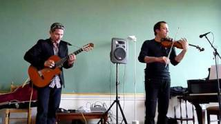 Oleg Ponomarev Awesome Violinist With Guitarist Drazen Djerek