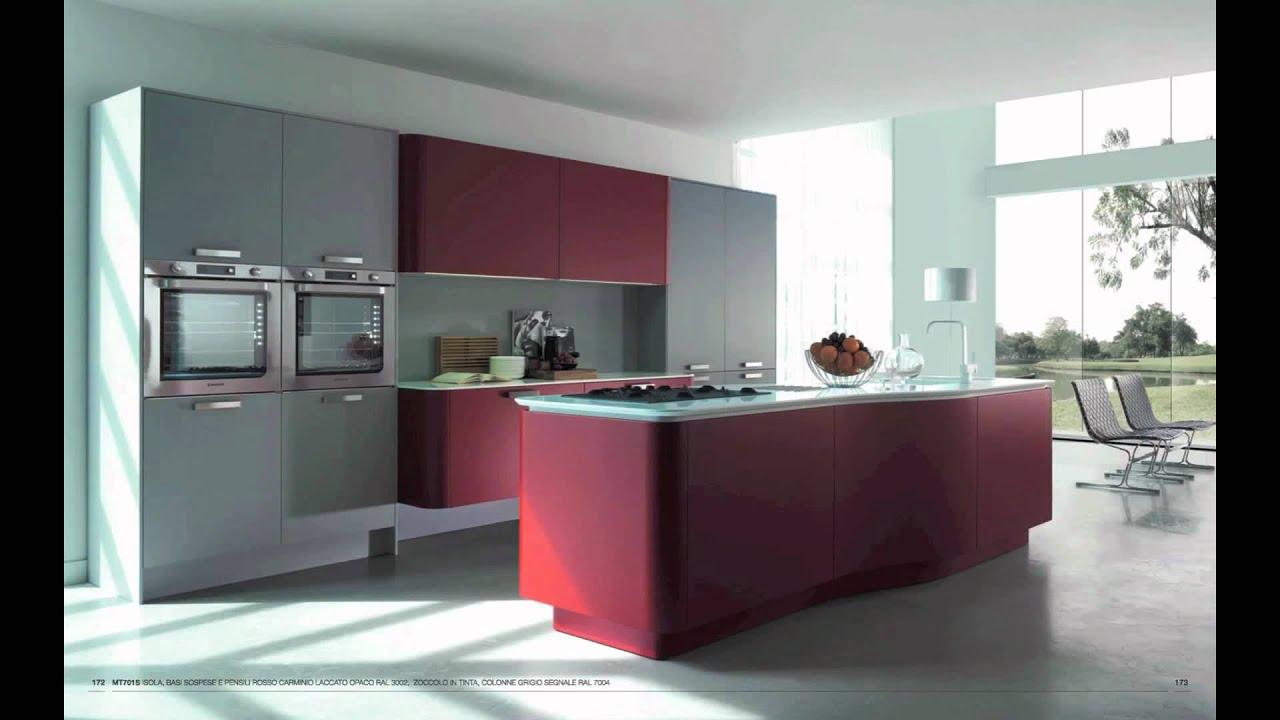 Cuisine de designer italienne en laque blanche design - Cuisines equipees italiennes ...
