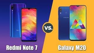 Speedtest Samsung Galaxy M20 vs Redmi Note 7: Exynos 7904 đối đầu Snapdragon 660