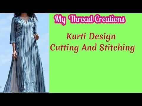 New Kurti Design Cutting And Stitching | Exclusive Designer Kurti Cutting and Stitching