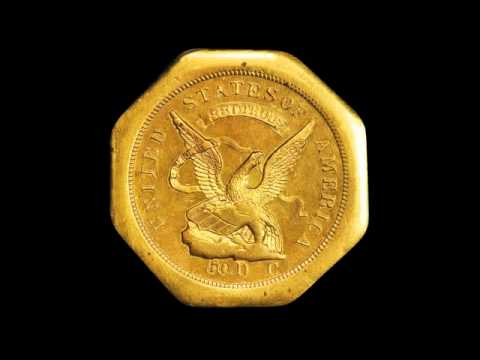 Discover the coins from the Most Famous Gold Rush of all - California. Part II of Pioneer Gold Video