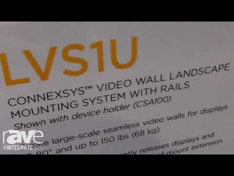 Integrate 2016: Milestone Chief Showcases the LVS1U Connexys Video Wall System with Rails
