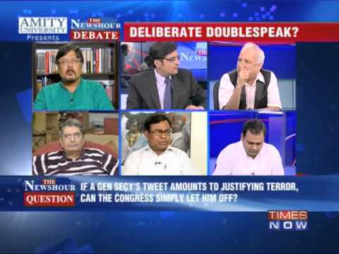 The Newshour Debate:On Shakeel Ahmed's Tweet (Part 2)