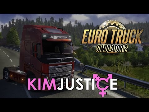 Euro Truck Simulator 2 Review (PC) - 2-4-6-8 Motorway and Chill - Kim Justice