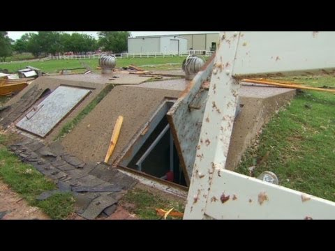 Tornado shelter saves lives in Oklahoma