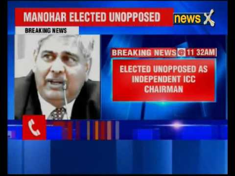 Shashank Manohar elected first independent ICC Chief