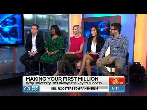 Sunrise - Young entrepreneurs making millions