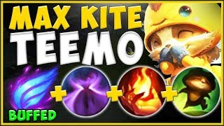 INSANE DAMAGE BUT NO ONE CAN CATCH YOU! NEW MAX KITE TEEMO BUILD IS 100% UNFAIR! - League of Legends