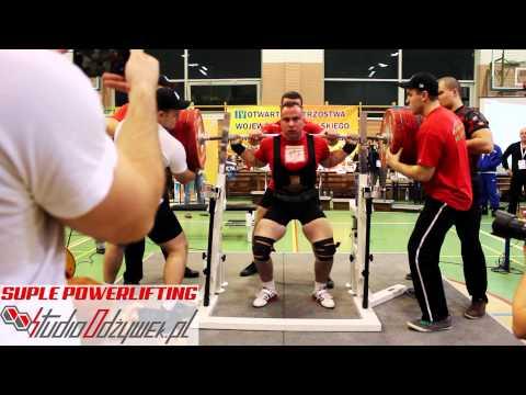 Tomasz Jarosiewicz squat - 320kg| weight class - 83kg |