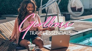Girlboss Travel Essentials | My Travel Must Haves As A CEO!