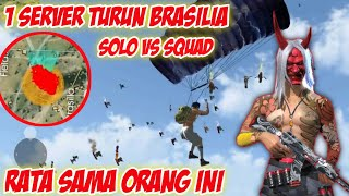 Solo Vs Squad 1 Server Turun di Brazilia | Smooth&Vincenco