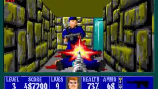 Wolfenstein 3D -  Episode 2 (All Kills, Secrets, Treasures)