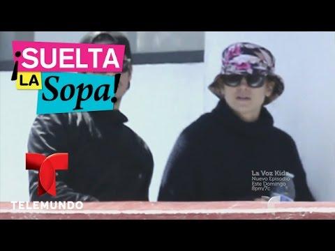 Suelta La Sopa | Jennifer López y Casper Smart juntos en sus vacaciones en México | Entretenimiento
