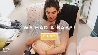 WE HAD A BABY! | Lily Pebbles