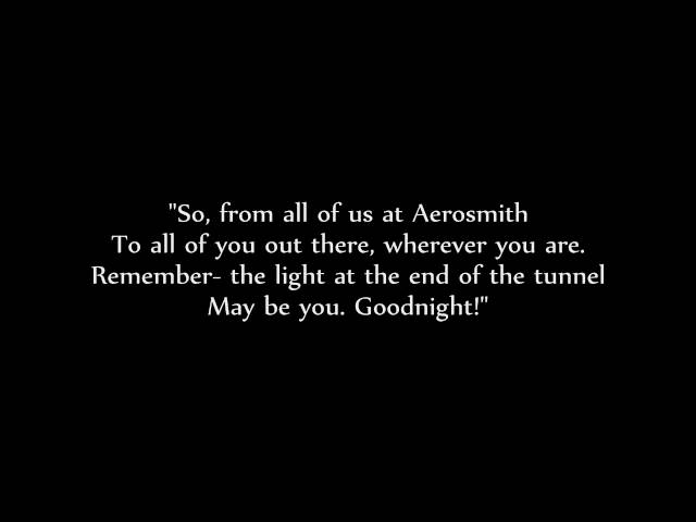 Aerosmith - Amazing lyrics HD