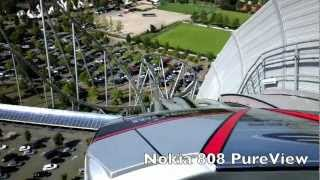 Nokia 808 PureView vs Apple iPhone 5 camera footage in Full HD