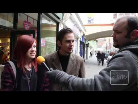 XDA TV on the Streets (of Salisbury)