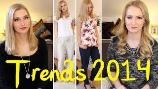 Mode & Frisuren TRENDS 2014 + OUTFITS