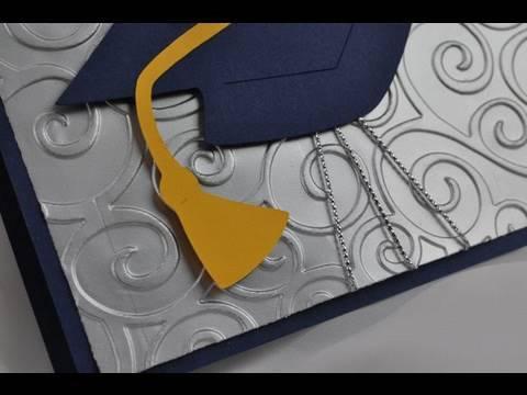 Cricut Tutorial Episode 212 - Quick Graduation Card - YouTube
