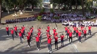 [Dân vũ 2016-2017] 12A3 - Nối vòng tay lớn