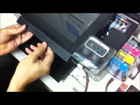 Instalando O Dispenser Na EPSON TX123  TX125  TX133  TX135  L200 E