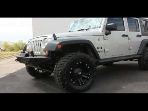 Lifted 4 Door Wrangler 33 Quot Kumho Youtube