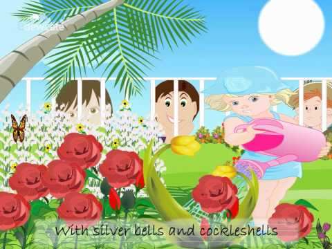 English Nursery Rhymes for Children – Mary Mary Quite Contrary