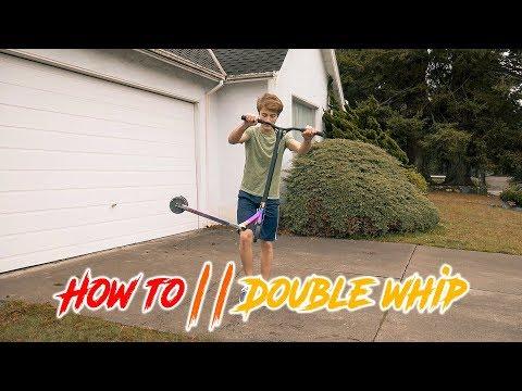 Scooter tutorial: HOW TO DOUBLE TAILWHIP