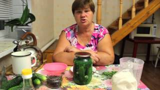 Обалденные огурчики. Рецепт хрустящих маринованных огурцов на зиму