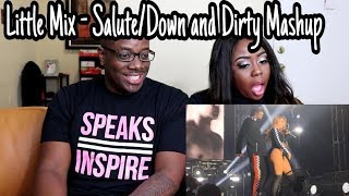 Download Lagu Little Mix- Salute/Down and Dirty Mashup Live In Denmark | Couple Reacts Gratis STAFABAND