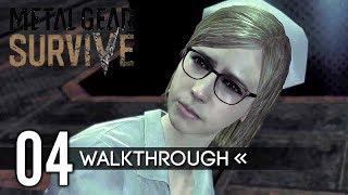 Metal Gear Survive | Gameplay Walkthrough | PART 4 - Miranda / Ruins 【Full Game】