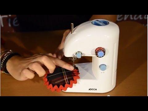 Enhebrar maquina coser jocca