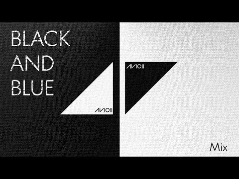 avicii- Black and blue(remix) - pinepol black