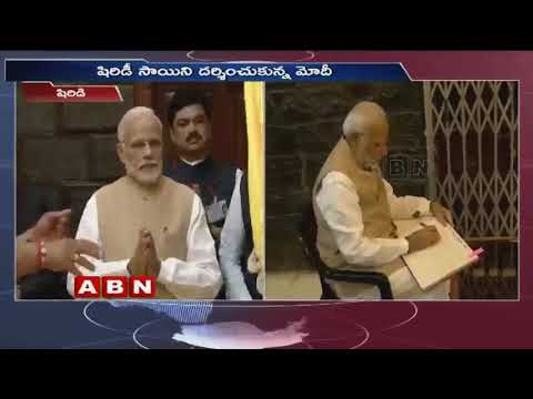 PM Modi attends centenary celebrations of Sai Baba Samadhi in Shirdi