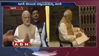 PM Modi attends centenary celebrations of Sai Baba Samadhi in Shirdi