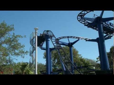Technic Test Track Roller Coaster POV Legoland Florida On-Ride Wild Mouse
