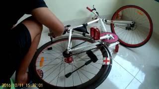 Cara Sangat Mudah Mewarnai Velg Motor / Sepeda Jadi Warna Hitam