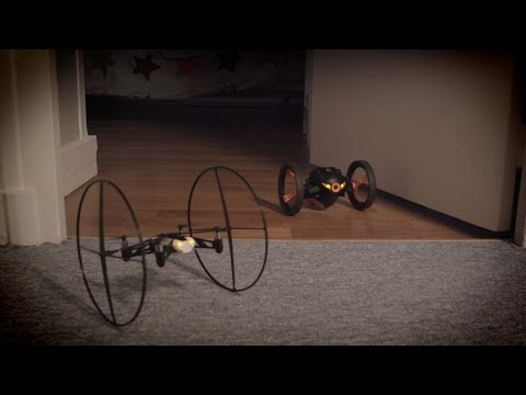 Parrot MiniDrone & Parrot Jumping Sumo - Connected Toys!