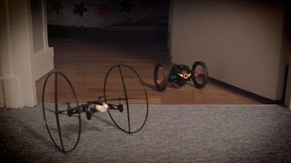 Parrot MiniDrones Jumping Sumo & Rolling Spider - Connected Toys!