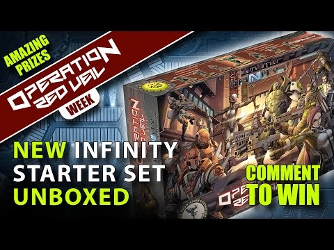 Infinity Operation: Red Veil Unboxing