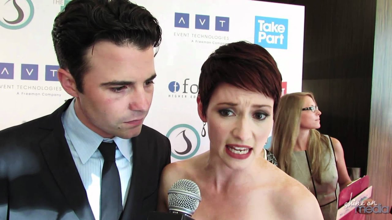 chyler leigh amp nathan west interview 3rd annual thirst
