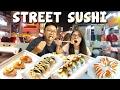 Makan Sushi Pinggir Jalan !!!